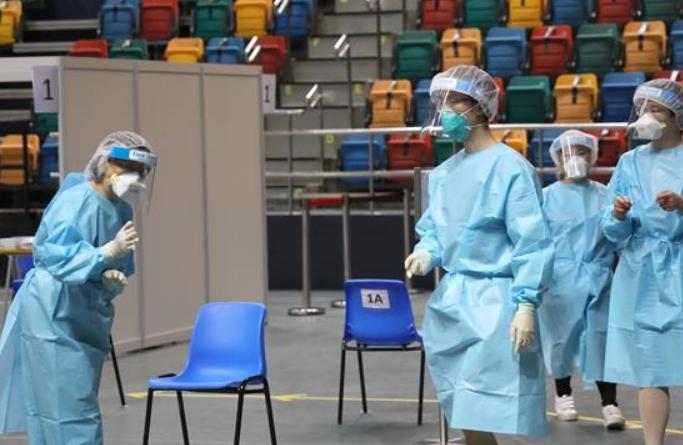 홍콩 코로나19 지역사회 진단검사 보급 계획 종결…누적 178만명 이상 검사 신청