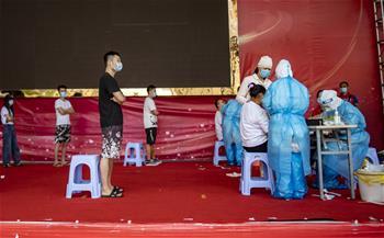 윈난 루이리: 교차감염 방지 위해 6만명 이상 검체 채취