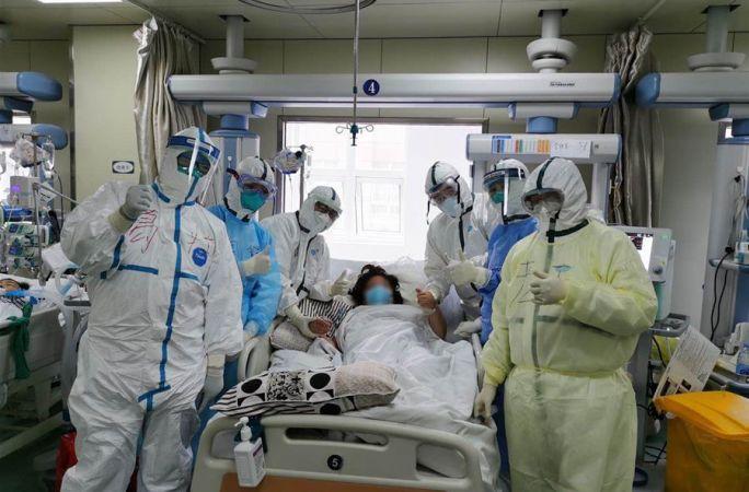 힘을 합쳐 생명의 방주 수호—랴오닝·상하이·광둥 등 의료팀, 레이선산병원 총력전에 함께 투입