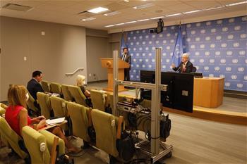 제75차 유엔총회 개막…유엔총회 의장 기자회견