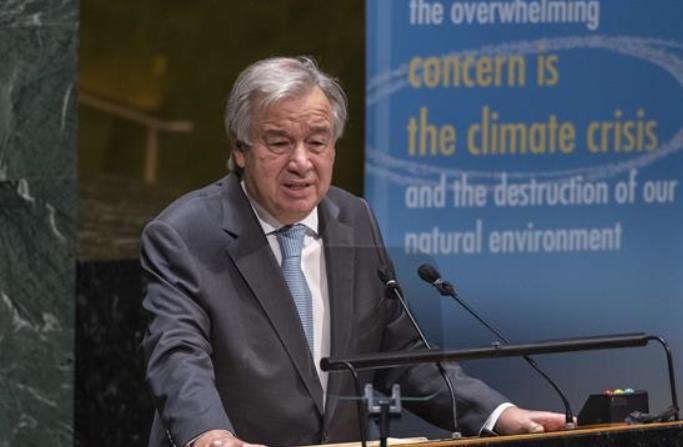 유엔 사무총장, 각 국 함께 노력해 글로벌 거버넌스 개선할 것 호소