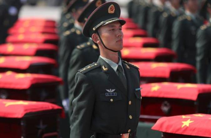 제7차 재한 중국인민지원군 열사 유해 귀국