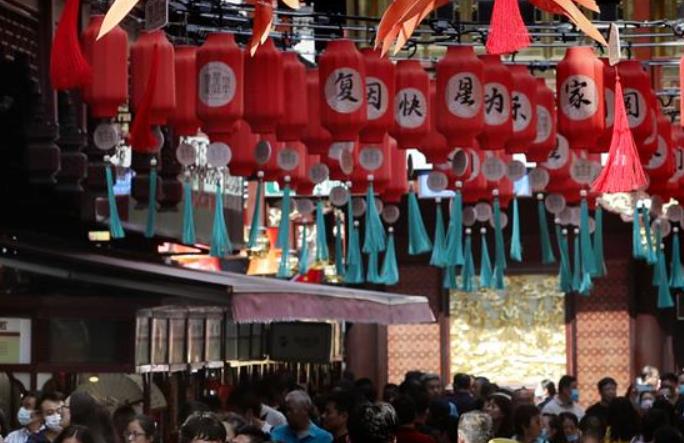 국경절·추석 연휴 기간 상하이 관광시장 빠르게 회복