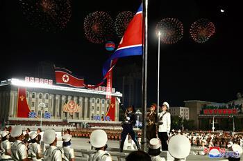 조선 노동당 창건 75주년 열병식