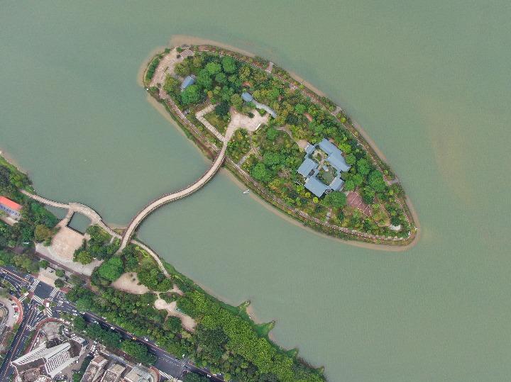 中 광둥, 섬 위에 있는 특별한 도서관