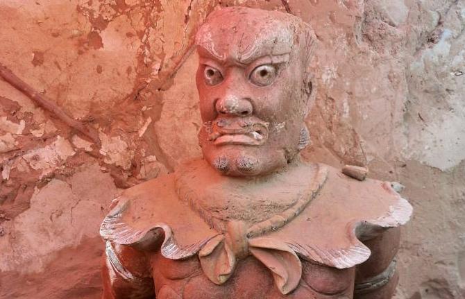 中 산시, 명대 만리장성 성곽 청평보 유적지 발굴